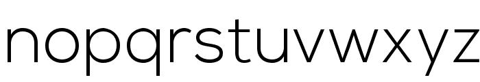 NexaLight Font LOWERCASE