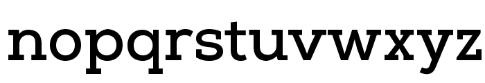 NexaSlabBoldFREE Font LOWERCASE