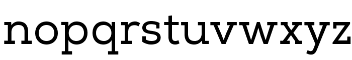 NexaSlabRegularFREE Font LOWERCASE