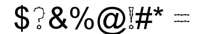 Nexarumpelstil Font OTHER CHARS