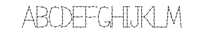 Nexarumpelstil Font UPPERCASE
