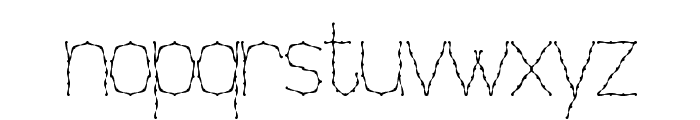 Nexarumpelstil Font LOWERCASE