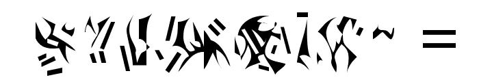 Nexerchist Font OTHER CHARS