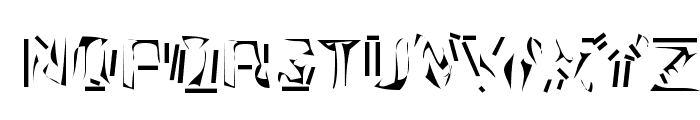 Nexerchist Font UPPERCASE