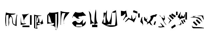 Nexerchist Font LOWERCASE