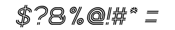 Next Century Italic Font OTHER CHARS