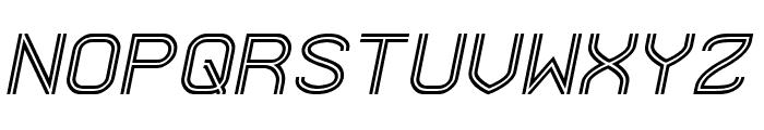 Next Century Italic Font UPPERCASE