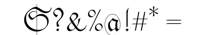NextSpringtime Font OTHER CHARS