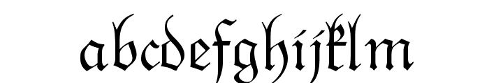 NextSpringtime Font LOWERCASE