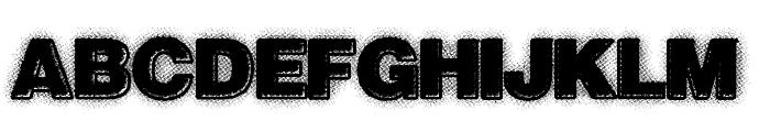 NextWave Font UPPERCASE