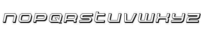 Nextwave 3D Italic Font UPPERCASE