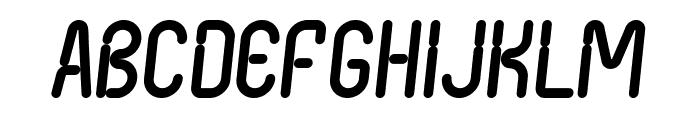 Nexus FPS Italic Font UPPERCASE