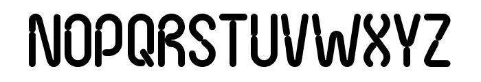 Nexus FPS Font UPPERCASE