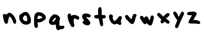 Nexzie Font Letters Num Regular Font LOWERCASE