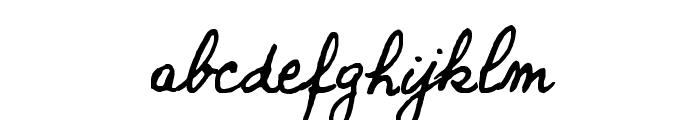 new Bernard Font LOWERCASE