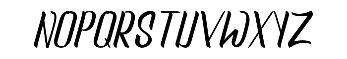 newscraper-Regular Font UPPERCASE