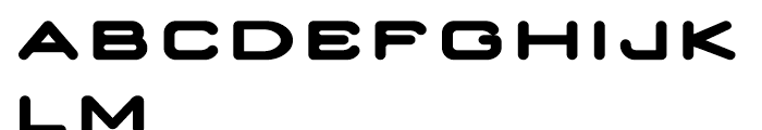 Nedian Bold Font UPPERCASE