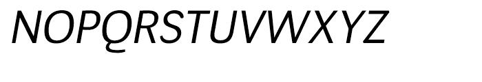 Negotiate Book Italic Font UPPERCASE