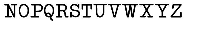 Neo Bulletin Regular Font UPPERCASE