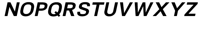 NeoGram Bold Italic Font UPPERCASE