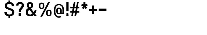 NeoGram Condensed DemiBold Font OTHER CHARS
