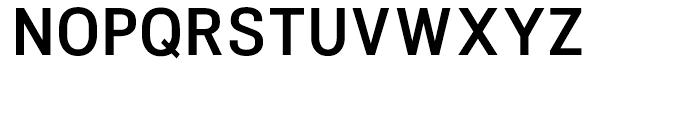 NeoGram Condensed DemiBold Font UPPERCASE