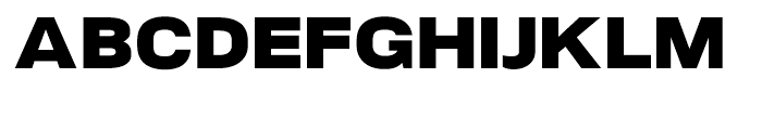 NeoGram Extended Black Font UPPERCASE