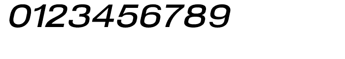 NeoGram Extended DemiBold Italic Font OTHER CHARS