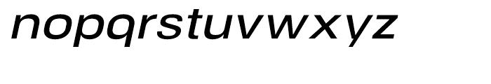 NeoGram Extended DemiBold Italic Font LOWERCASE