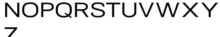 NeoGram Extended Medium Font UPPERCASE