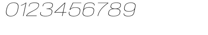NeoGram Extended Ultra Light Italic Font OTHER CHARS
