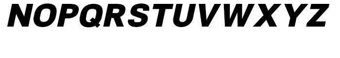 NeoGram Heavy Italic Font UPPERCASE