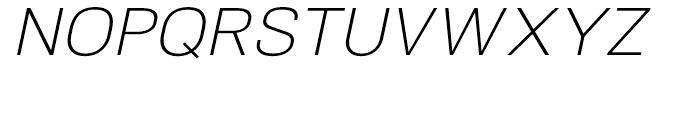 NeoGram Light Italic Font UPPERCASE