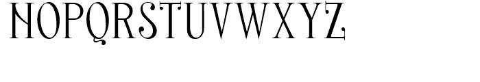 Nerea Regular Font UPPERCASE