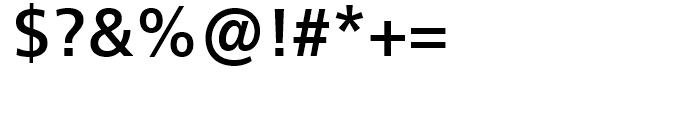 Neue Frutiger 1450 Medium Font OTHER CHARS