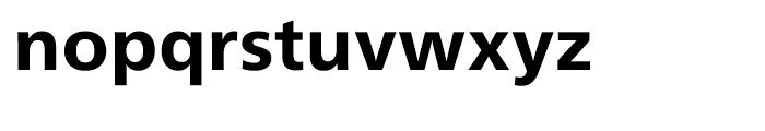 Neue Frutiger Cyrillic Heavy Font LOWERCASE