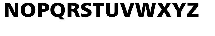 Neue Frutiger Devanagari Black Font UPPERCASE