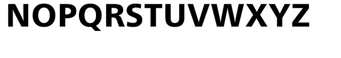 Neue Frutiger Heavy Font UPPERCASE