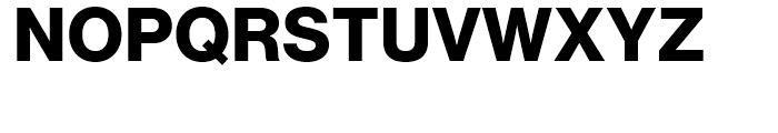 Neue Haas Grotesk Display 75 Bold Font UPPERCASE