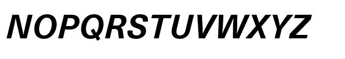 Neue Haas Unica Bold Italic Font UPPERCASE
