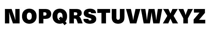 Neue Haas Unica Extra Black Font UPPERCASE