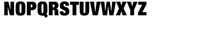 Neue Helvetica 107 Extra Black Condensed Font UPPERCASE