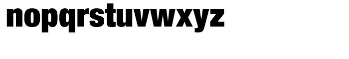 Neue Helvetica 107 Extra Black Condensed Font LOWERCASE