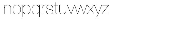 Neue Helvetica 25 Ultra Light Font LOWERCASE