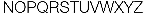 Neue Helvetica 45 Light Font UPPERCASE