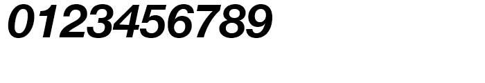 Neue Helvetica 76 Bold Italic Font OTHER CHARS