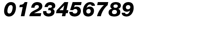 Neue Helvetica 86 Heavy Italic Font OTHER CHARS