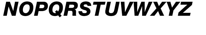 Neue Helvetica 86 Heavy Italic Font UPPERCASE