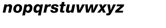 Neue Helvetica 86 Heavy Italic Font LOWERCASE