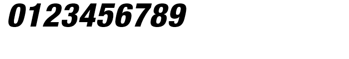 Neue Helvetica 87 Heavy Condensed Oblique Font OTHER CHARS